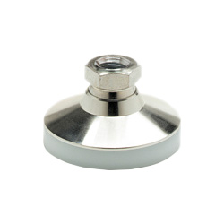 Levelling feet, foot / threaded bushing Stainless Steel