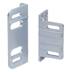 Mounting plate, angled, Zinc die casting