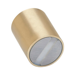 Retaining magnets, smooth finish, Brass
