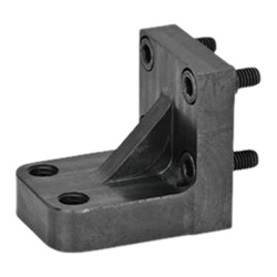 Single post bracket / bracket accessories for pneumatic fastening clamps