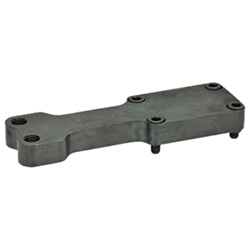 Single post bracket / Y-bracket accessories for clamping bolts for pneumatic fas