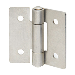 Stainless Steel-Sheet metal hinges 136-NI-60-60-A
