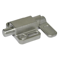 Stainless Steel-Spring latches with flange for surface mounting