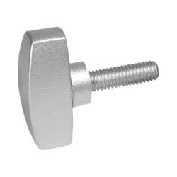 Red Thumb Screws with Rosette Fluted Head SS Thumb Screw Red Thumbscrews Knurled Knob Screw Thumbscrew 5//16 x 1 Clamping Knobs Knurled Thumb Screw
