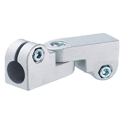 Swivel clamp connector joints, Aluminium