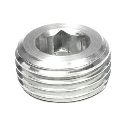 Threaded plugs with conical thread, Stainless Steel