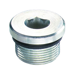 Threaded plugs, Steel