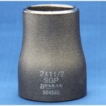 Butt Weld Type Pipe Fitting, Steel Pipe, Reducer (Concentric/Eccentric), Black Tube