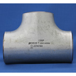 Butt Weld Type Pipe Fitting, Steel Pipe, T (Same Diameter / Reducing) White Tube