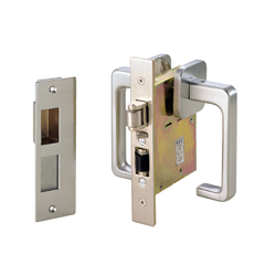 Soundproof Door Lock (for Lightweight Doors, with Trigger) 1555T