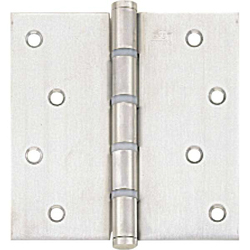 125 Flat Butt Hinge (Includes Nylon Ring)