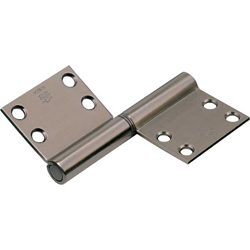 195A Noiseless Flag Hinge (Surface Mounted Type)