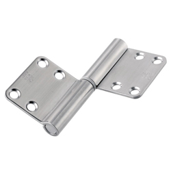195DR Noiseless Flag Hinge (Surface Mounted / Engraved Type)