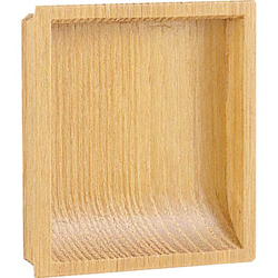 Natural Wood Square Dust Drop Pull Handle 348-K