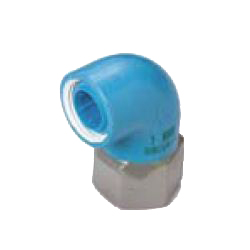 Pre-Sealed Core Fittings, Insulating Type, for Appliance Connection (Dissimilar Metals Contact Prevention-Type Fittings) Z Series, Female Adapter ZF, Unequal Diameter Elbow