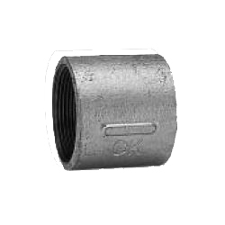 CK Fittings - Screw-in Type Malleable Cast Iron Pipe Fitting - Socket with Band