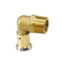 C Lock1 - One Touch Fitting, Elbow Male Adapter o