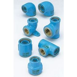 Core Fittings, for Appliance Connection, Dissimilar Metal Contact Prevention Fittings, Faucet Elbow with Back Seat