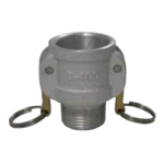 Arm Lock Coupling, Type B, Male Thread Coupler