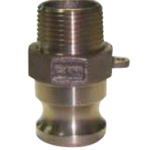 Arm Lock Coupling Type-F Male Screw Adapter