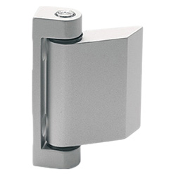 CMD-AL - Hinge for thin doors -Aluminium