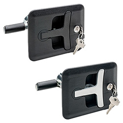 CSMH - Latches with push handle -Zinc alloy