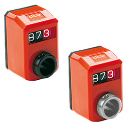 DD50 - Digital position indicators -direct drive 3-digit counter technopolymer