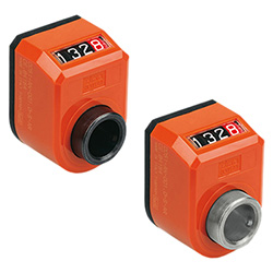 DD51 - Digital position indicators -direct drive 4-digit counter technopolymer
