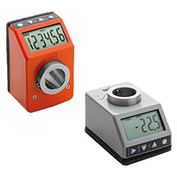 DD52R-E - Electronic position indicators -direct drive 6-digit display technopolymer
