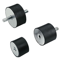 DVA.1 DVA.2 DVA.3 - Vibration-damping elements -Rubber and steel or stainless steel