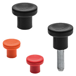 EKK. - Knurled grip knobs -Technopolymer