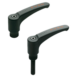 ERS. - Safety adjustable handles -Push action technopolymer