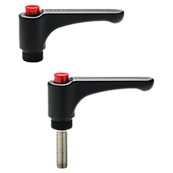 ERW. - Adjustable handles -Flat lever technopolymer