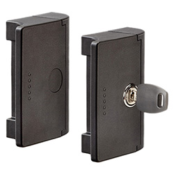 ESC - Door lock handles -with or without built-in lock technopolymer
