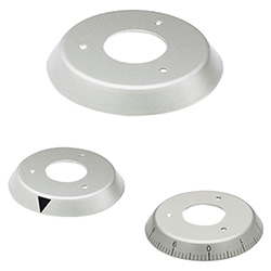 F.N - F.K - F.GS - Flanges for graduations -for IZN.380 control knobs