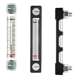 HCZ. - Column level indicators -with or without protection frame technopolymer