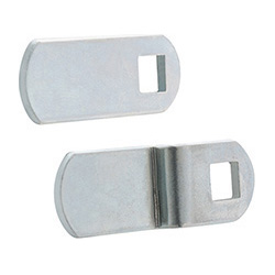 LPR - Levers for PR-CH flush pull handles -Steel or stainless steel