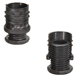 NDA.T - End-caps for round tubes -with adjustable height levelling element technopolymer