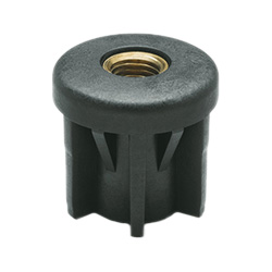 NDX.T - Round end-caps for tubes -Technopolymer