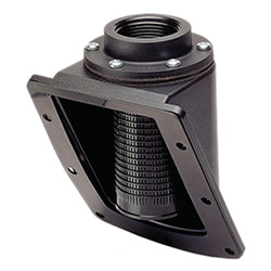 PLRF+C - Side mount -for threaded cap technopolymer