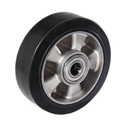 RE.G2 - Elastic rubber wheels -Aluminium centre body