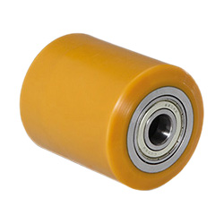 RE.G5 - Mould-on polyurethane rollers -Steel centre body
