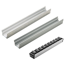 RLT-AL - Profiles for ELEROLL roller tracks -Aluminium