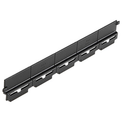 RLT-CE - Containment edge for ELEROLL roller tracks -Technopolymer