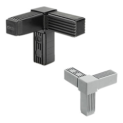 STC - Square tube connectors -Technopolymer and steel