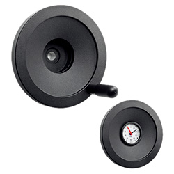 VAD-XX - Handwheels for position indicators -Aluminium