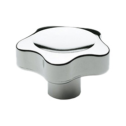 VC.692-CR - Lobe knobs -Technopolymer chrome-plated
