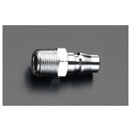 Male Threaded Plug for Air Tool (Type 20), Made in USA EA140DB-22