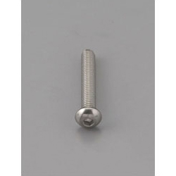 Button Head Bolt with Hexagonal Hole [Stainless Steel] EA949MF-406