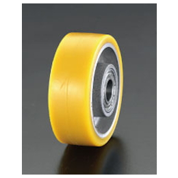 Polyurethane-tire Aluminum Wheel EA986MP-160
